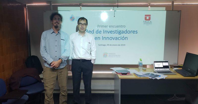 Investigadores de la PUCV y U. de Talca impulsan Red Chilena de Investigadores en Innovación