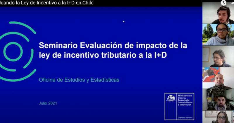 Seminario sobre evaluación de la ley de incentivo tributario a la I+D se realiza con gran asistencia