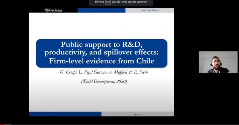 Economista del BID participa en seminario de la Red