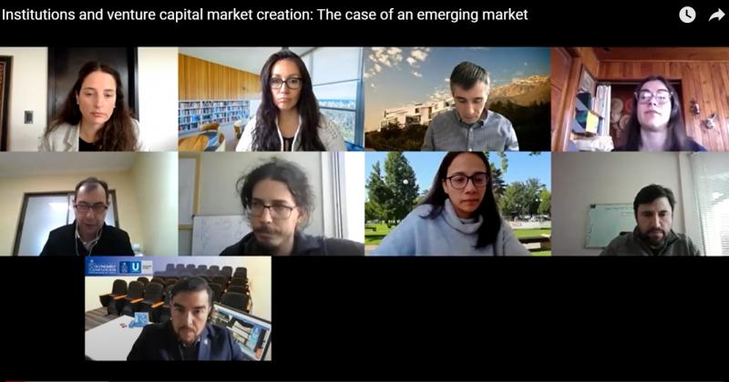 Conversatorio sobre venture capital se realiza en septiembre